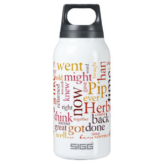 Great Expectations 10 Oz Insulated SIGG Thermos Water Bottle