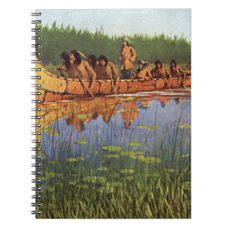 Great Explorers by Remington Vintage Frontiersmen Note Book