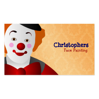 Face Painting Business Cards & Templates