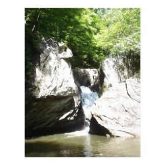 Great Falls del Dan Plantilla De Membrete