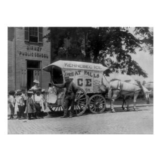 Great Falls Ice Company, 1890s Impresiones