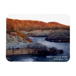 Great Falls Magnet Rectangular Magnet