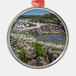 Great Falls National Park Metal Ornament