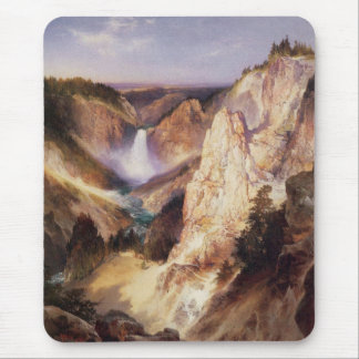 Great Falls Of Yellowstone Mouse Pad