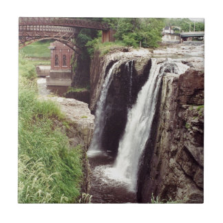 Great Falls, Paterson Small Square Tile
