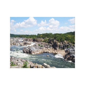 Great Falls Rapids Canvas Print