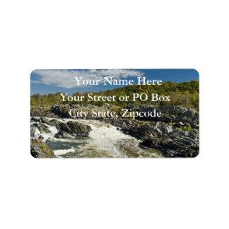 Great Falls Virginia Label
