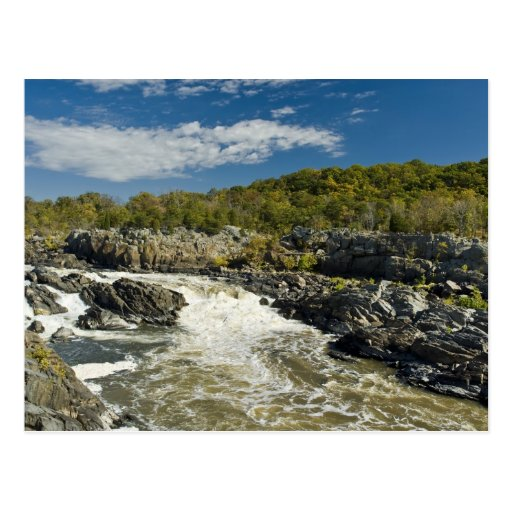 Great Falls Virginia Postcard