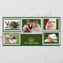 Great Family Photos & Pets Photo Card
