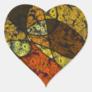 great feelings heart sticker