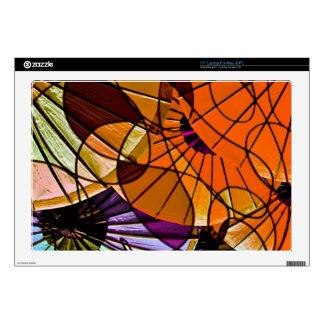 great feelings orange laptop skin