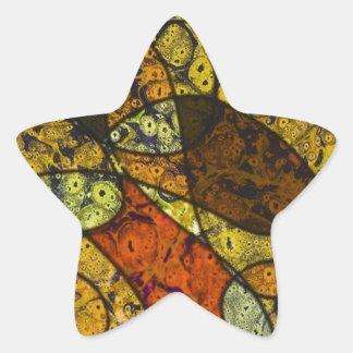 great feelings star sticker
