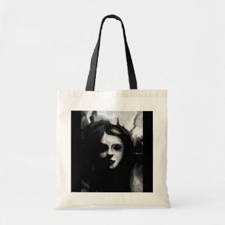 Great fire of London, gothic lady hand painting Tote Bag