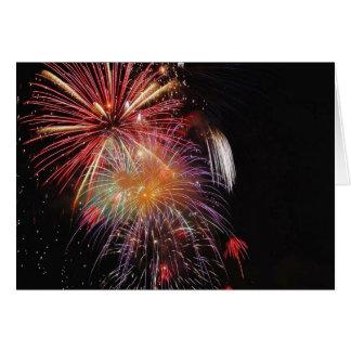 Great Fireworks Night Greeting Card