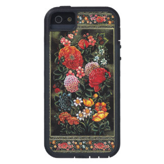 Great floral miniature of colorful of the Persian  iPhone 5 Case