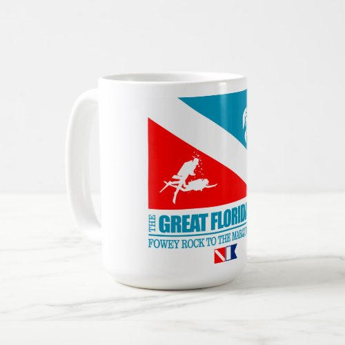 Great Florida Reef sq Coffee Mug