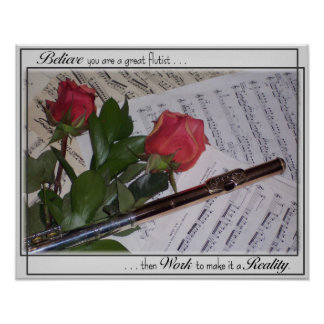 Great Flutist Poster