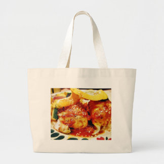 Great Food For Dinner Jumbo Tote Bag