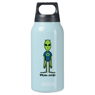 Great for family or friends. 10 oz insulated SIGG thermos water bottle