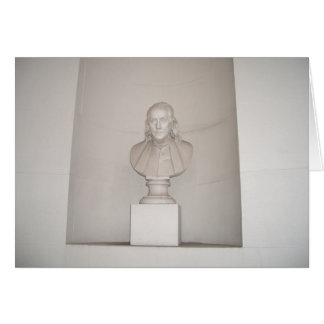 Great Forefather Ben Franklin USA America July 4th Card