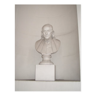 Great Forefather Ben Franklin USA America July 4th Postcard