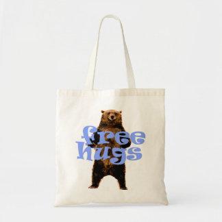 great FREE HUGS bear design bag