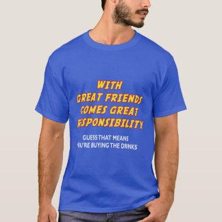 Great Friends (Drinks) T-Shirt