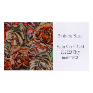 Great garden roses business card