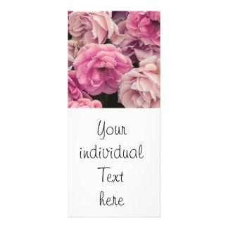 Great garden roses, pink rack card