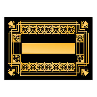 Great Gatsby 1920s Art Deco Wedding Place Cards