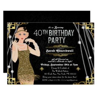Gatsby Invitations & Announcements   Zazzle