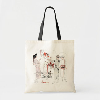 Great Gatsby inspired Bridesmaid Tote Budget Tote Bag