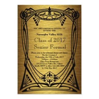 Great Gatsby Prom Senior Formal Card