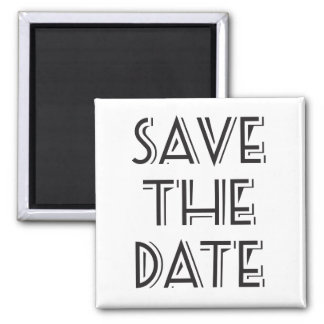 Great Gatsby Themed Save the Date Magnet