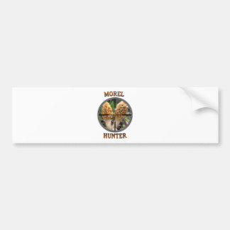 Great Gear For Morel Mushroom Hunters Bumper Sticker