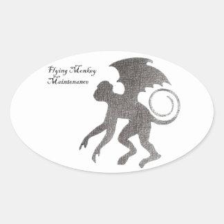 Great gift ideas oval sticker