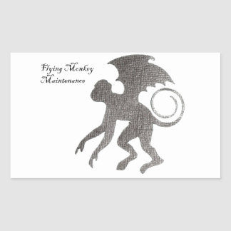 Great gift ideas rectangular sticker