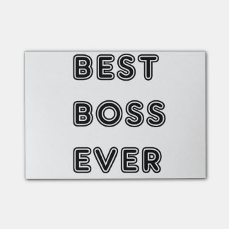 Great gifts for best boss! Surprise your boss with Post-it® Notes
