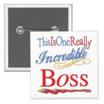Great Gifts For Boss 2 Inch Square Button