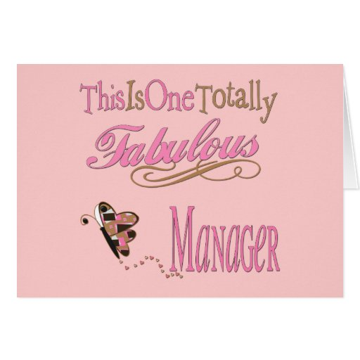 Great Gifts For Boss Greeting Card
