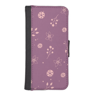 Great Glamorous Incredible Precious Wallet Phone Case For iPhone SE/5/5s