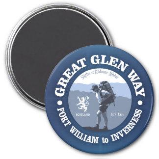 Great Glen Way Magnet