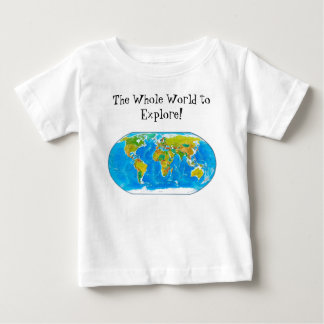 Great global graphic! baby T-Shirt