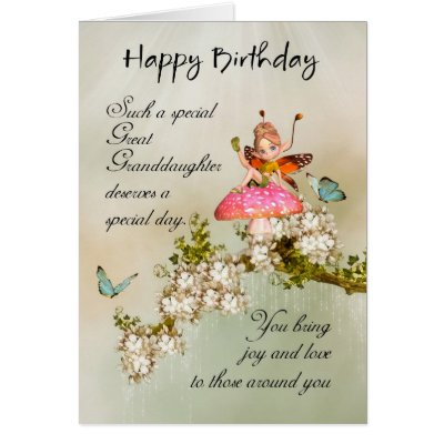 Great granddaughter birthday card with a bunch of zazzle bookmarktalkfo Gallery