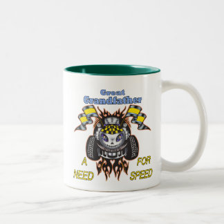 Great Grandfather Father's Day Gift Ideas Two-Tone Coffee Mug