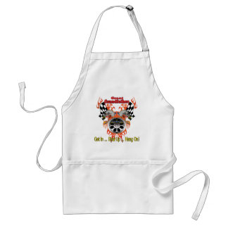 Great Grandfather Racing Father's Day Gifts Adult Apron