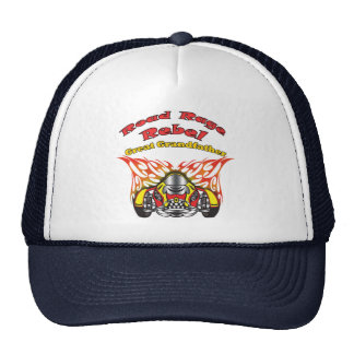 Great Grandfather Road Rage Racing Gifts Hats