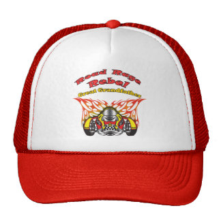 Great Grandfather Road Rage Racing Gifts Mesh Hat