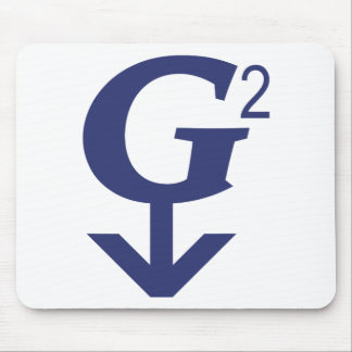 Great Grandfather  Symbol - G - Squared Mousepads