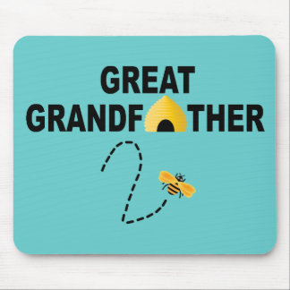 Great Grandfather To Be Mousepad